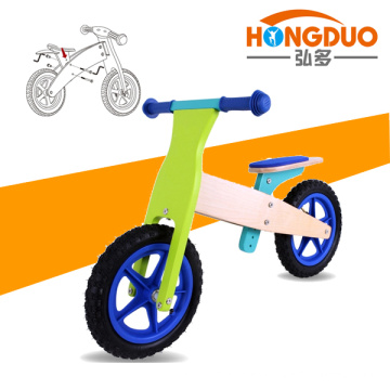 Bicicleta de madera del diseño de la manera / bici durable de los cabritos para la venta