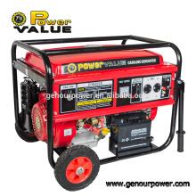 Generador de la gasolina 5000w del inversor del valor de la energía de Taizhou para la venta