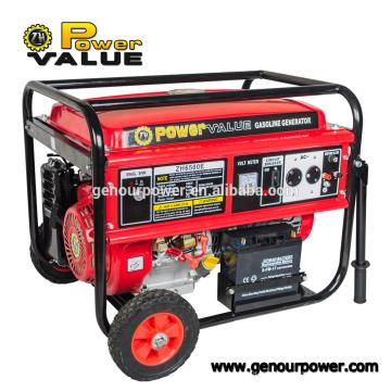 Taizhou Power Value Inverter 5000w Benzin-Generator zum Verkauf