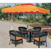 Aluminum Hot Sun Umbrella Set