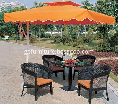 Alumnium Patio Umbrella