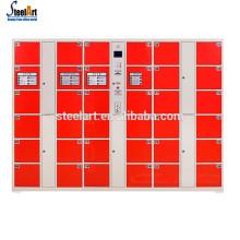 Modern design coin operated electronic keyless locks lockers