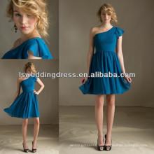 HB2031 Sexy vestidos de dama de honra azul turquesa baratos