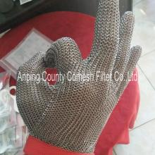 Stainless steel protective safety gloves