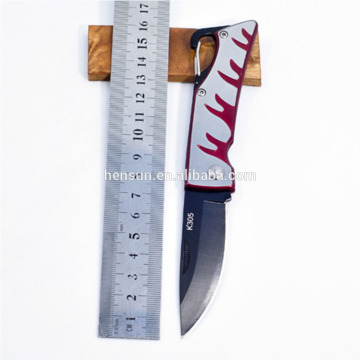 Folding Coating Blade Pocket Knife with Belt Buckle