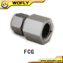 AFK 316 SS Gauge Connector Tube fittings for Pressure Gauge