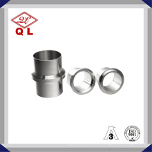 3A Acero Inoxidable Sanitario Male I-Line Long Weld Ferrule 14wli
