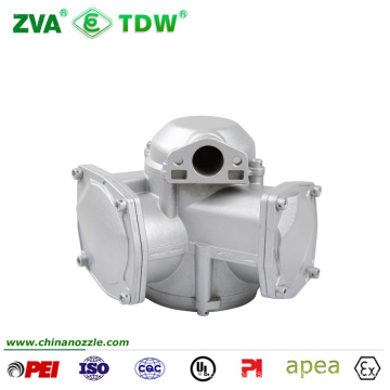 Variable Area Doppler Flowmeter Calibration Types Turbine Diesel Flow Meter Low Flow Flowmeter  for Fuel Filling Dispenser