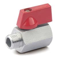 Válvula de esfera do fim da linha do aço inoxidável mini (M / F)