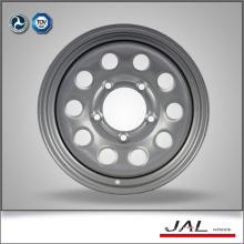5 Lug 5.5x15 Car Rims Wheels in Silver Color