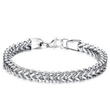 Fashion Simple Titanium Steel Men's Bracelet Stainless Steel Jewelry Chain Men's Bracelet