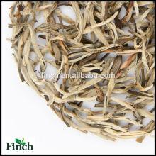 JT-006 estándar de la UE Baihao Yinzhen o Pekoe aguja de plata jazmín perfumado té blanco al por mayor a granel té de hojas sueltas