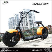 High Quality 1000W 62V / 12ah Scooter Elétrico Brushless Adulto, 2 Rodas E-Scooter Motocicleta Elétrica