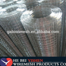 """Forma de agujero de cuadrado / rectángulo y material de alambre de hierro de bajo carbono 2 """"x2"""" malla de alambre soldada galvanizada"""