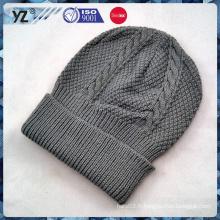 2015 nouveau produit chapeau en tricot plié