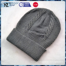 2015 new product folded knit hat