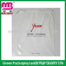 Elegent logo print drawstring plastic mobile phone case packaging
