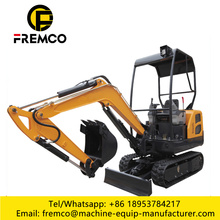Compact Excavator with Cummins B5.9 Engine