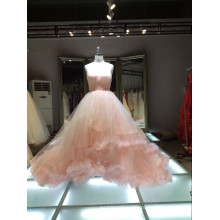 1A363 vestido de noiva de vestido / vestido europeu de ponta vestido de novia
