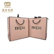 Beautiful Custom Style Brand Logo Printed Small Art Paper Gift Bag From Direct Factory