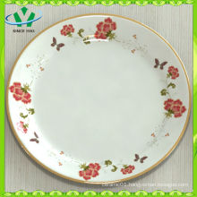 Beautiful Round Cheap White Dinner Plates For Restaurant