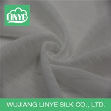 Tecido de vestido de noiva / tecido de voile branco