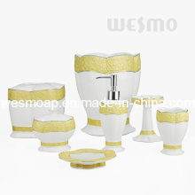 Painting Porcelain Bathroom Set (WBC0817A)