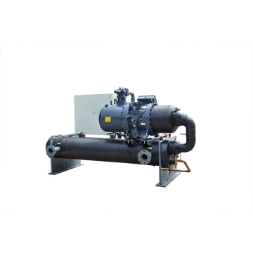 Shell-Tube Evaporator Water Cooled Screw Chiller