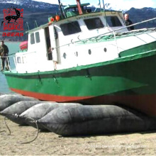 Hot sale marine rubber launching ship moving airbag for docking