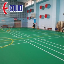 Badminton Court Mats PVC Sports Flooring Certification BWF