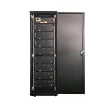 High voltage lithium battery storage system