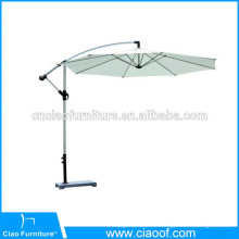 Parasol extérieur en aluminium de parasol de banane de jardin