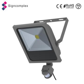 3 anos de garantia Ultra-Slim COB 50W PIR Sensor LED novas luzes de acampamento