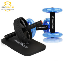 Fitness Exercise Body Building Entrenamiento Abdominal AB Wheel