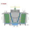 Heat source tower heat pump unit