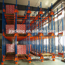 Jracking Cold Room Radio Shuttle Automatic Retrieval Storage Racking System