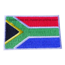 Insigne national de broderie de drapeau de drapeau sud-africain (GZHY-PATCH-011)
