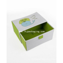 High Quality Wedding Packaging Drawer Paper Box with Ribbon