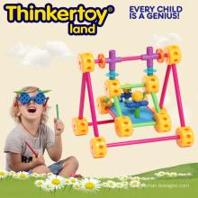 Plastic DIY Sensory Training Toy for Home School Curriculum
