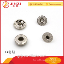 Hot sale metal press button snaps for leather