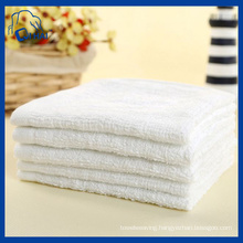 100% Cotton 28cmx28cm White Towel (QHH69322)
