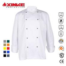 Xinke uniforme de chefe de cozinha confortável para restaurante