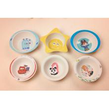 (BC-BP1004) Hot-Sell Bamboo Fiber Tableware Baby Bowl