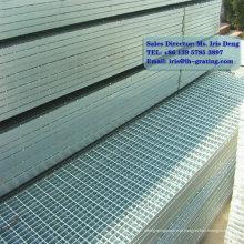 Grelha de barras de metal galvanizado
