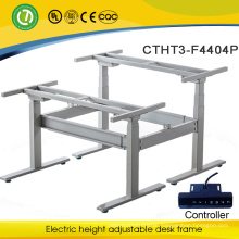 Malaysia electric height adjustable frame metal desk legs&office reception desk frame made in Malaysia