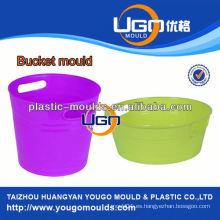 Moldeo de proveedor evaluado molde de plástico fábrica / molde de cubo hecho en China