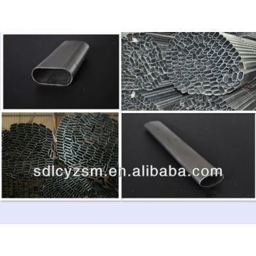 special shape welded steel tube Oval Shaped Pipe and Tube