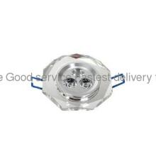 3W Cool White Crystal led ceiling light  85-265V AC