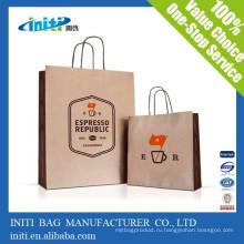 Китай оптовой дешевой моды Custom Drawstring бумажный мешок