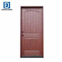 Puertas interiores compuestas prefabricadas clásicas de fibra de vidrio de Fangda